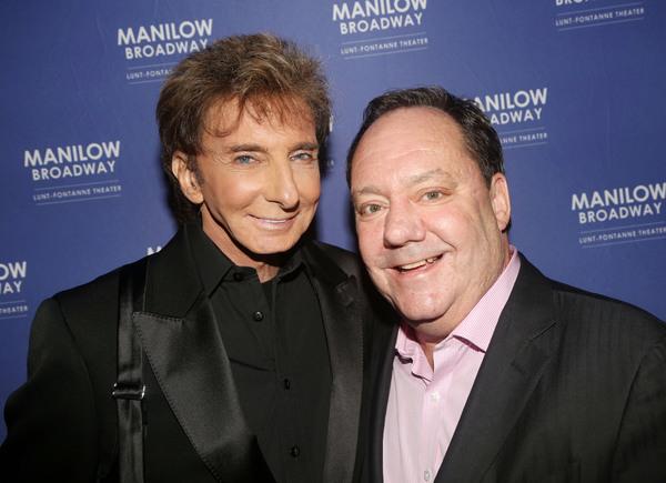 Barry Manilow and James L Nederlander Photo