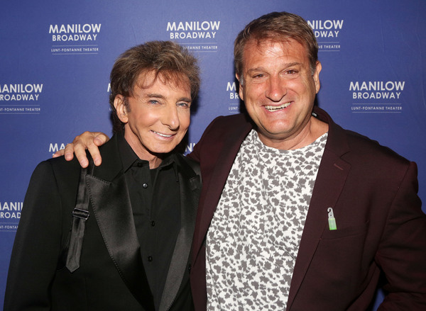 Barry Manilow and Jeff Calhoun Photo