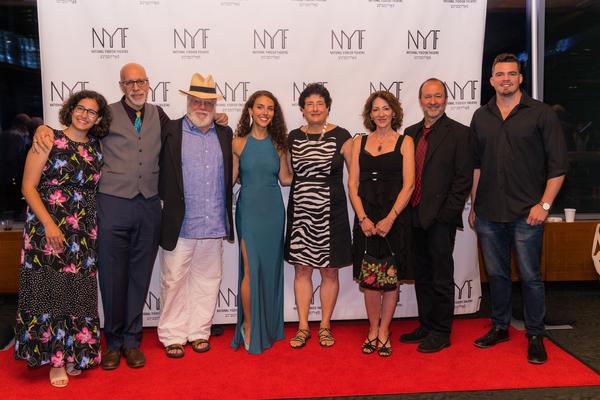 Elana Mirella Mariani, David Schechter, Zalmen Mlotek, Lexi Rabadi, Dr. Judith Friedm Photo