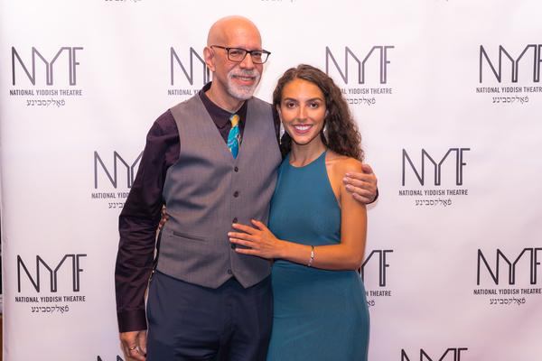David Schechter and Lexi Rabadi Photo