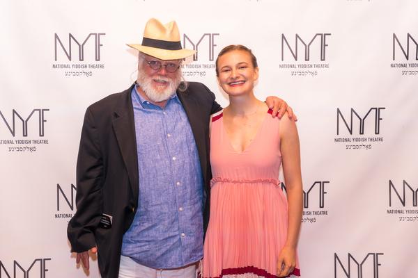 Zalmen Mlotek and Rebecca Brudner Photo