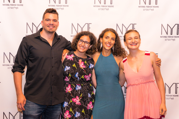 Michael Bobenhausen, Elana Mirella Mariani, Lexi Rabadi, and, Rebecca Brudner Photo