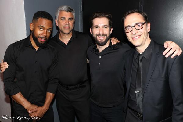 Jerome Jennings,  Saad Izain, Elikatz Zoller, Mark Hartman Photo