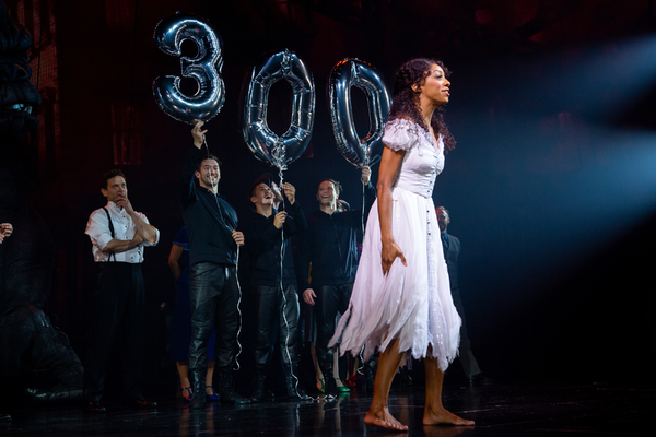 Christiani Pitts and the cast of KING KONG Photo