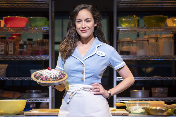 Photo Flash: Get a Taste of Alison Luff and Mark Evans in WAITRESS