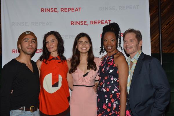 Jake Ryan Lozano, Domenica Feraud, Florencia Lozano, Portia and Michael Hayden Photo