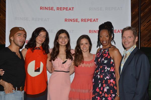 Jake Ryan Lozano, Domenica Feraud, Florencia Lozano, Kate Hopkins, Portia and Michael Photo