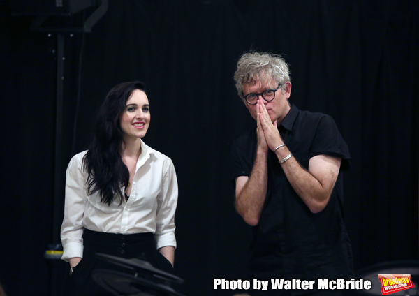 Lena Hall and director Jay Scheib Photo
