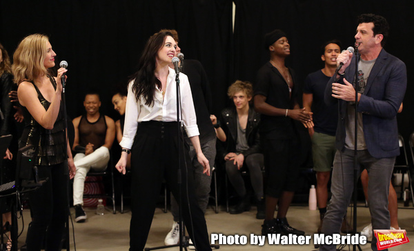 Photo Coverage: BAT OUT OF HELL Rocks Out In Rehearsal For Its Off-Broadway Run