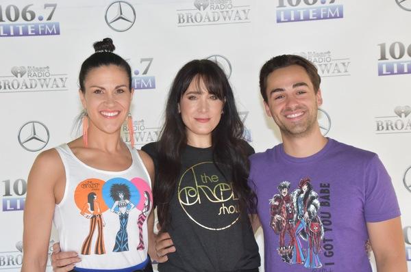 Alena Watters, Dee Roscioli and Michael Tacconi
