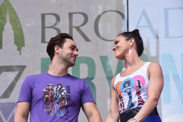 Alena Watters and Michael Tacconi