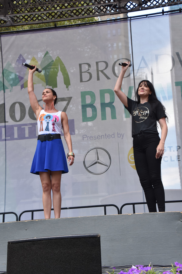 Photo Flash: THE PROM, THE CHER SHOW, BROADWAY BOUNTY HUNTER, And More Perform At Broadway in Bryant Park