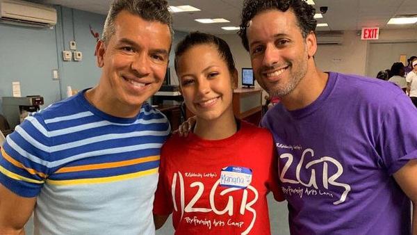 Photo Flash: Tony Award-Winner Sergio Trujillo Visits R.Evolución Latina's Summer Camp