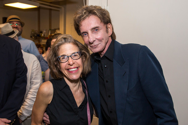 Jackie Hoffman with Barry Manilow Photo