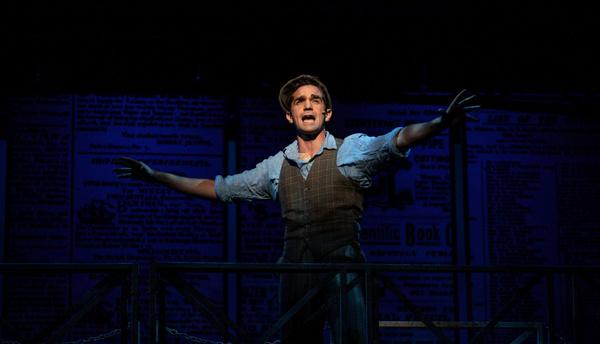 Photo Flash: Dan DeLuca Leads Disney's NEWSIES At The Lexington Theatre Company