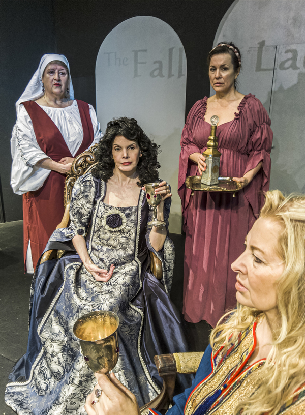 Photo Flash: Santa Paula Theater Center Presents THE FALL OF LADY M