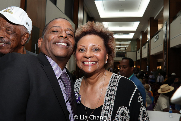 Darnell Williams and Leslie Uggams Photo