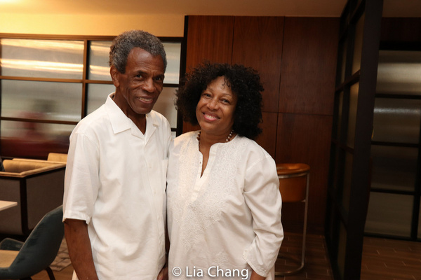 Elizabeth Van Dyke and Andre De Shields Photo