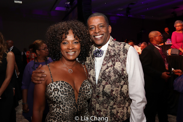 Vanessa Bell Calloway and Darnell Williams