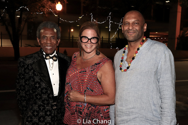 Andre De Shields, KB Saine and Andre Harrington Photo