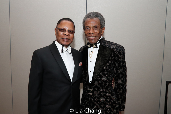 Producer Stephen C. Byrd and Andre De Shields