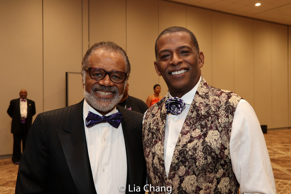 Ted Lange and Darnell Williams