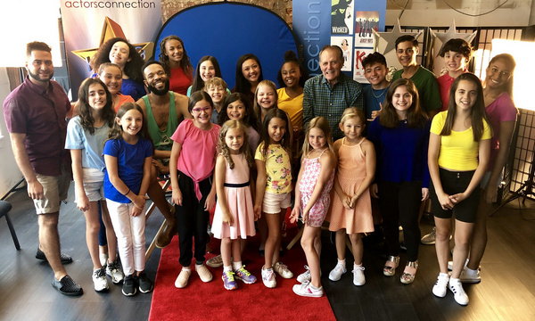 Kids & Teens learned about the business and had a great time with special guests, Broadway Stars Stephen Bradbury and Jason Veasey, at Actors Connection Performing Arts Camp.