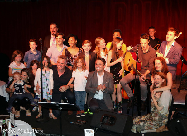 Photo Flash: James Snyder And The Cast of HARRY POTTER AND THE CURSED CHILD Take The Stage At Birdland