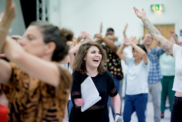 Photo Flash: In Rehearsal For AS YOU LIKE IT at Queen's Theatre Hornchurch