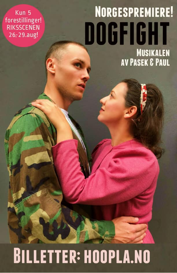 BWW Previews: DOGFIGHT at Riksscenen, Oslo