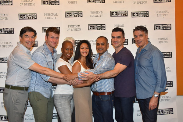 Photo Coverage: Meet the Cast of Gingold Theatrical Group's CAESAR & CLEOPATRA