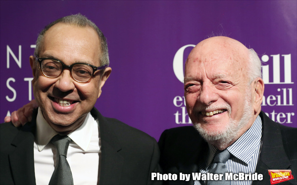 George C. Wolfe and Hal Prince attends the 16th Annual Monte Cristo Award ceremony ho Photo