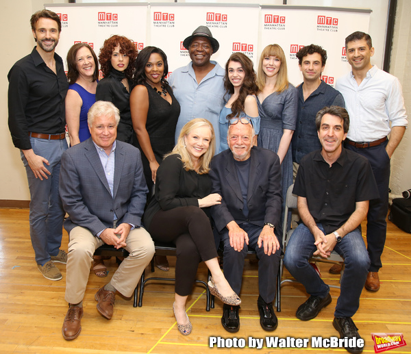 First Row: David Thompson, Susan Stroman, Hal Prince and Jason Robert Brown. Second R Photo