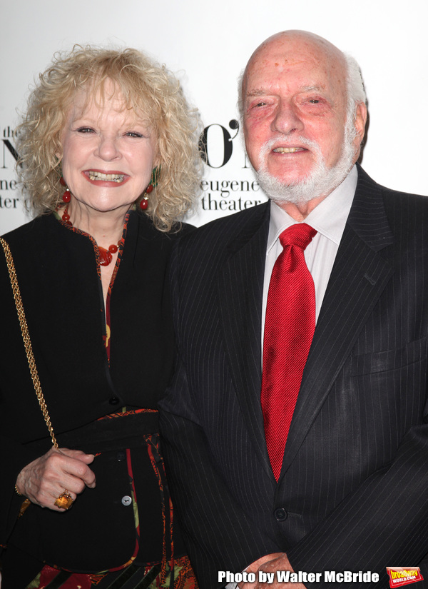 Penny Fuller & Hal Prince.attending The Eugene O'Neill Theater Center's 11th Annual M Photo