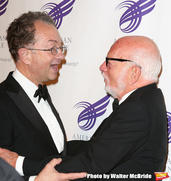William Ivey Long and Hal Prince attending the The 2013 American Theatre Wing's Annua Photo