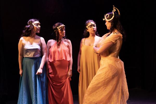 Stephanie Garcia, Martha Preve, May Perdomo, Lorena del Pino Photo