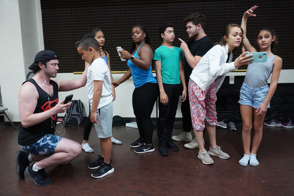 Photos: In Rehearsal With THE PERFECT FIT At Rave Theatre Festival