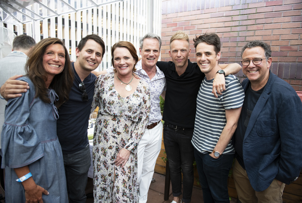 Photo Flash: Original Cast of DEAR EVAN HANSEN Assembles To Send Off Jennifer Laura Thompson And Michael Park