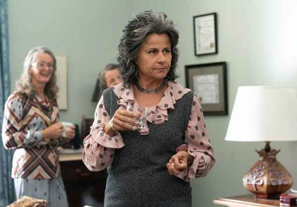 Tracey Ullman as Betty Friedan Photo
