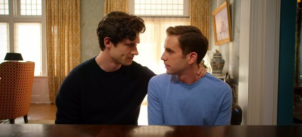 David Corenswet and Ben Platt