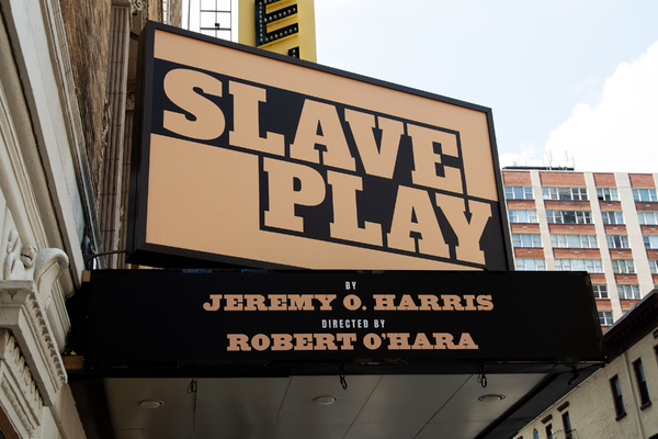 Up on the Marquee: SLAVE PLAY Arrives on Broadway