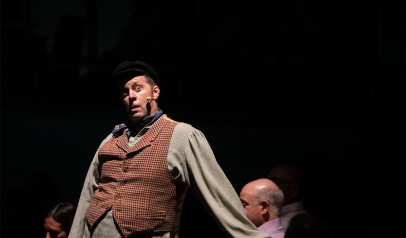 Photo Flash: Shuler Hensley Makes Surprise Appearance At Atlanta Jewish Film Festival