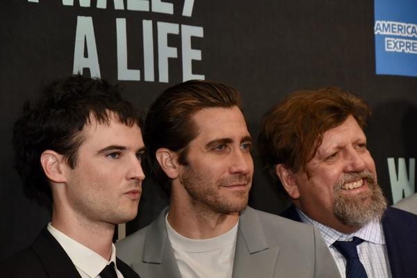 Photo Coverage: Inside Opening Night of SEA WALL/ A LIFE, Starring Jake Gyllenhaal and Tom Sturridge