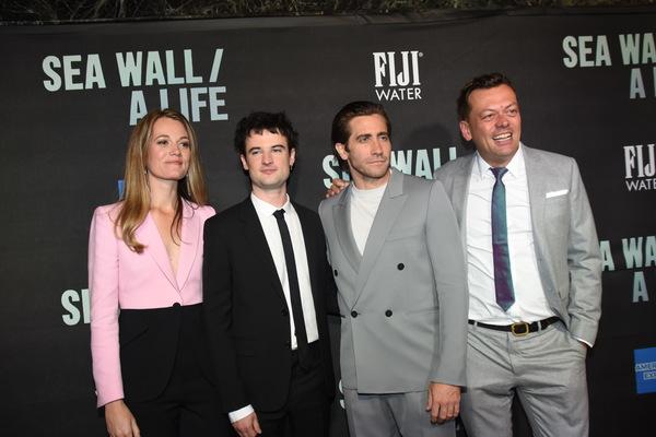 Carrie Cracknell Tom Sturridge, Jake Gyllenhaal and Simon Stephens Photo