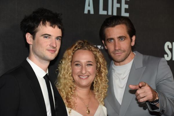 Tom Sturridge, Riva Marker and Jake Gyllenhaal Photo