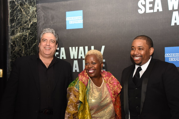 Frank Basile, Lillias White and Brian Moreland Photo