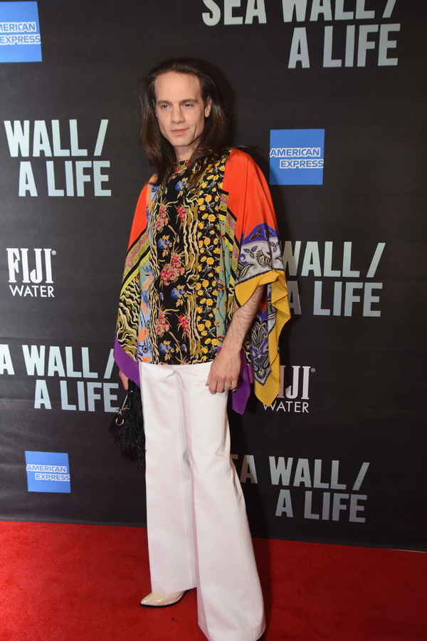 Photo Coverage: On the Red Carpet at Opening Night of SEA WALL/A LIFE, Starring Jake Gyllenhaal and Tom Sturridge