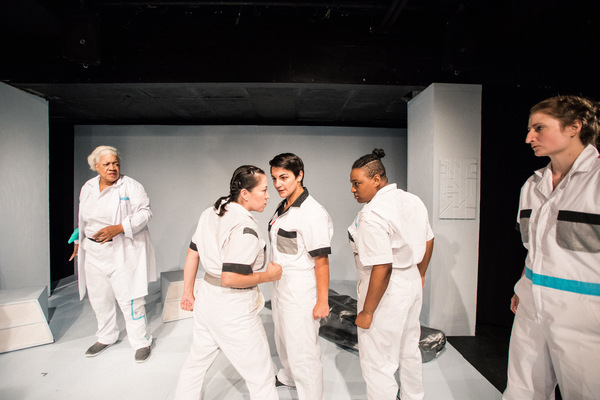 Photo Flash: Babes With Blades Theatre Company Presents WOMEN OF 4G