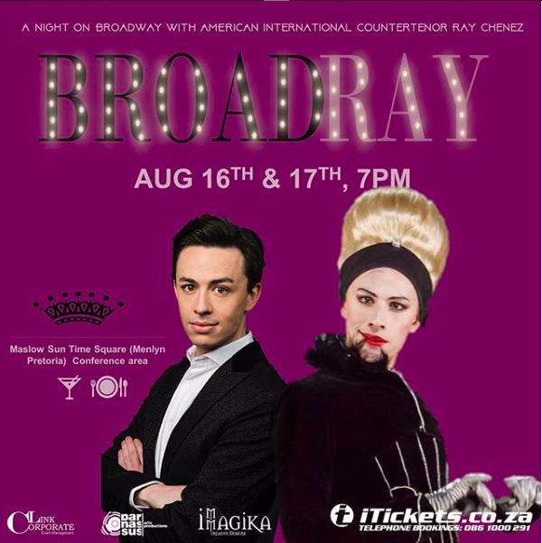 BWW Previews: BROADRAY! IN PRETORIA at The Maslow Hotel Time Square