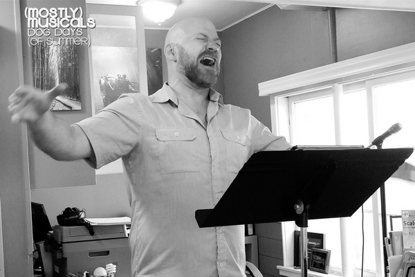 Photo Flash: In Rehearsal For (mostly)musicals' DOG DAYS OF SUMMER